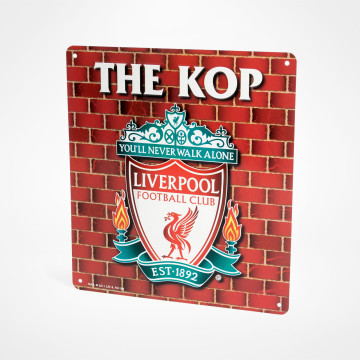 Skylt The Kop