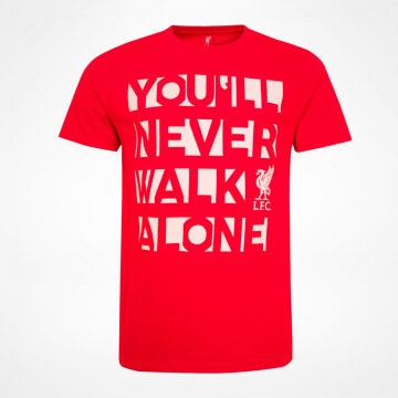 You´ll Never Walk Alone T-skjorte - Rød