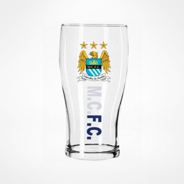 Crest Pint Glass
