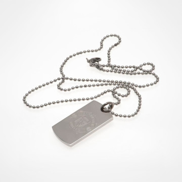 Halsband Engraved Dog Tag & Chain