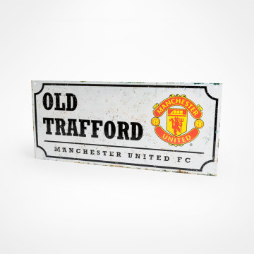 Old Trafford Retro Street Sign