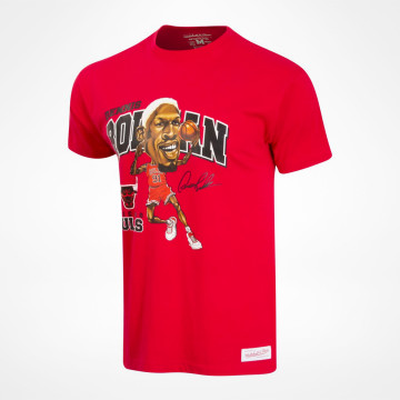 T-shirt Caricature Traditional - Rodman