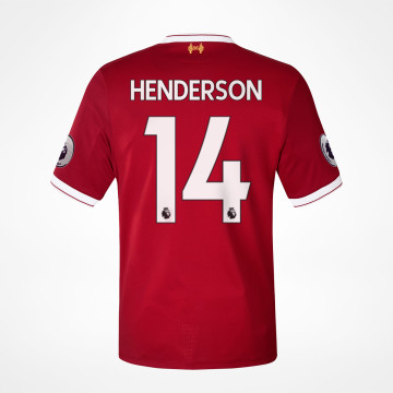 Home Jersey 17/18 - Henderson 14