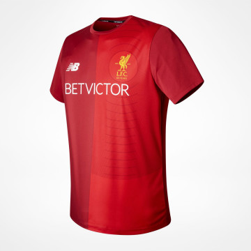 Pre Match Tee Red