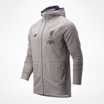 Travel Zip Hoody 19/20 - Grey
