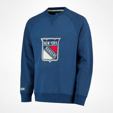 adidas New York Rangers Blue Rink Full Zip Jacket