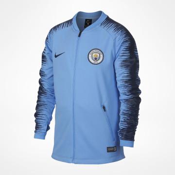 2018 2019 man City Nike Anthem jakke (svart)