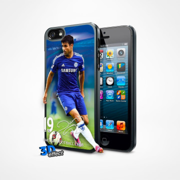 3D iPhone 5 Skal - Diego Costa