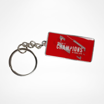 Champions Of Europe Keyring