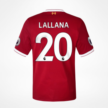 Home Jersey 17/18 - Lallana 20