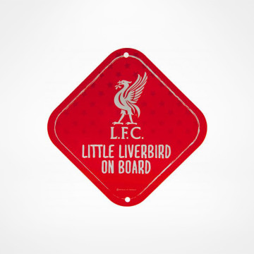 Skylt Little Liverbird