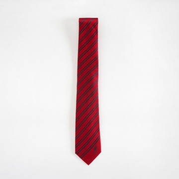 Liverbird Red Stripe Tie