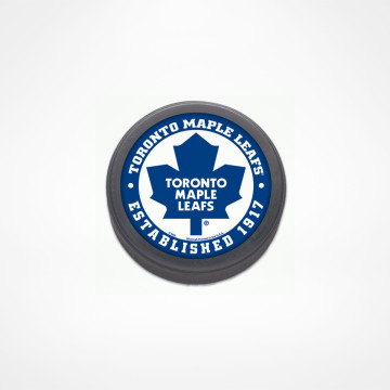 Maple Leafs Hockey Puck