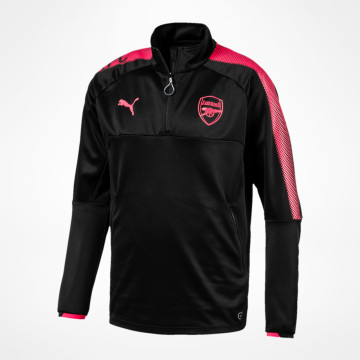 AFC 1/4 Training Top Black