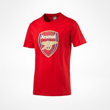 Fan Tee Crest Junior Red