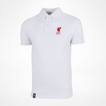 Polo Liverbird Solid - Hvit