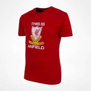T-shirt This Is Anfield - Röd
