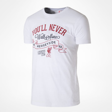 You'll Never Walk Alone Tee - White