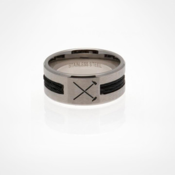 Black Inlay Ring HM