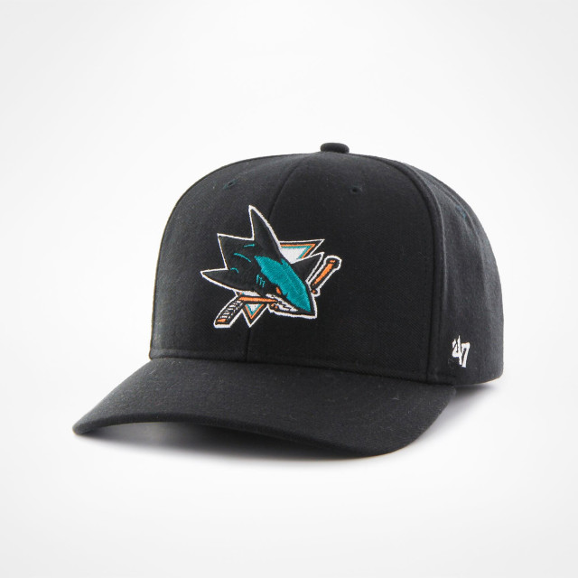 491eb23a880e08 San Jose Sharks 47 Contender Cap - SupportersPlace
