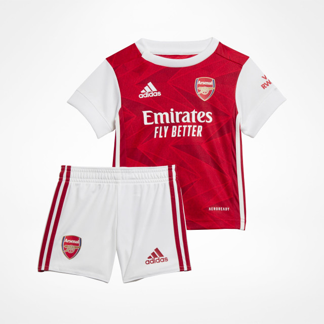 Arsenal Home Baby Kit 2020 21 Supportersplace
