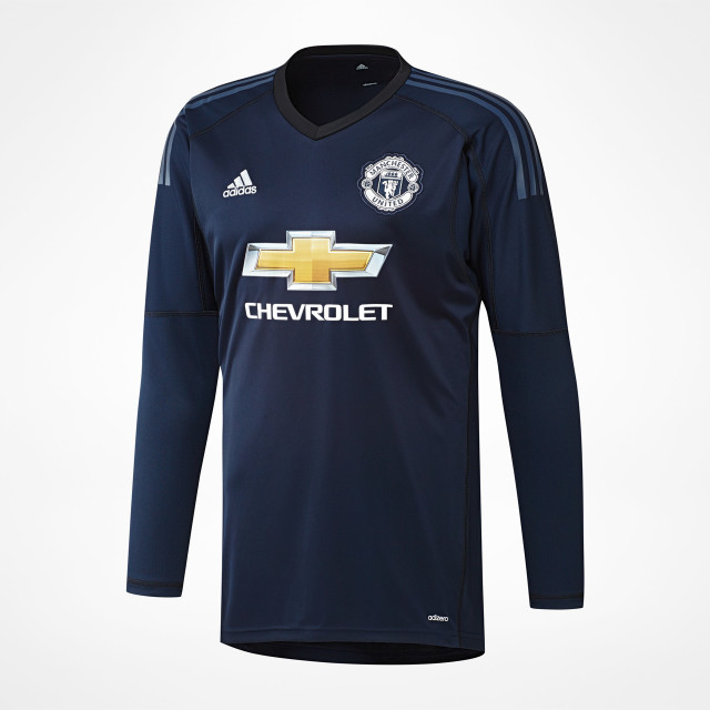 low priced 7892a 4a1f8 Manchester United Home GK Jersey 2017/18 - SupportersPlace