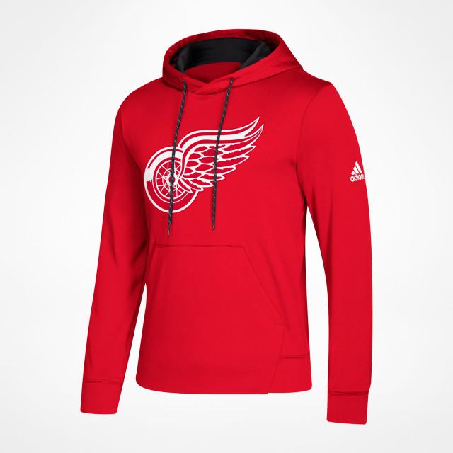 Detroit Red Wings Adidas Pullover Hoodie | MonkeySports.eu
