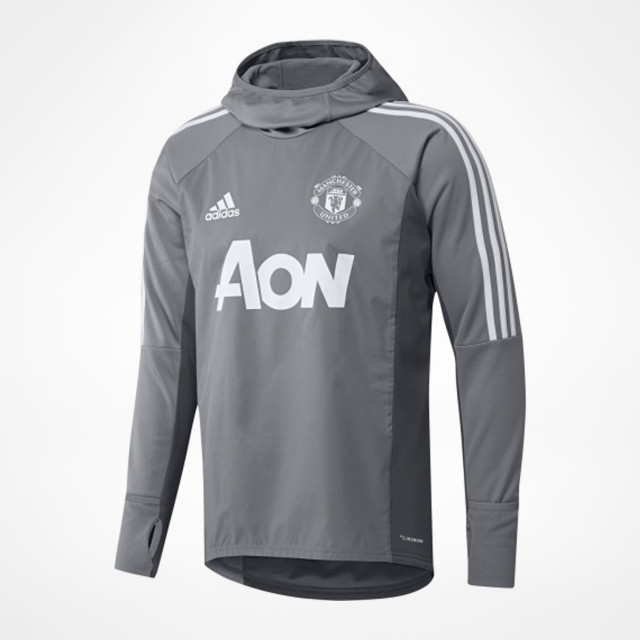 quality design 7fecf f3e80 Manchester United Warm Top Grey - SupportersPlace