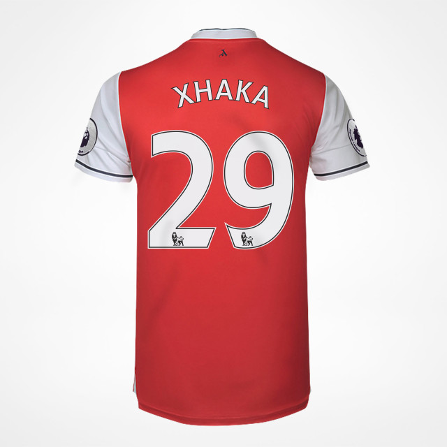 ce4286a55 Arsenal Home Jersey - Xhaka 29 - SupportersPlace