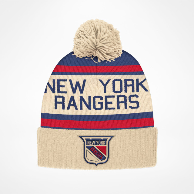 New York Rangers Cuffed Pom Vintage - SupportersPlace