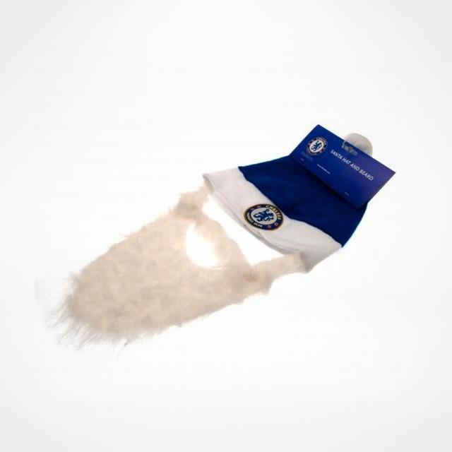2c26c271aafc3 Chelsea Santa Hat   Beard - SupportersPlace