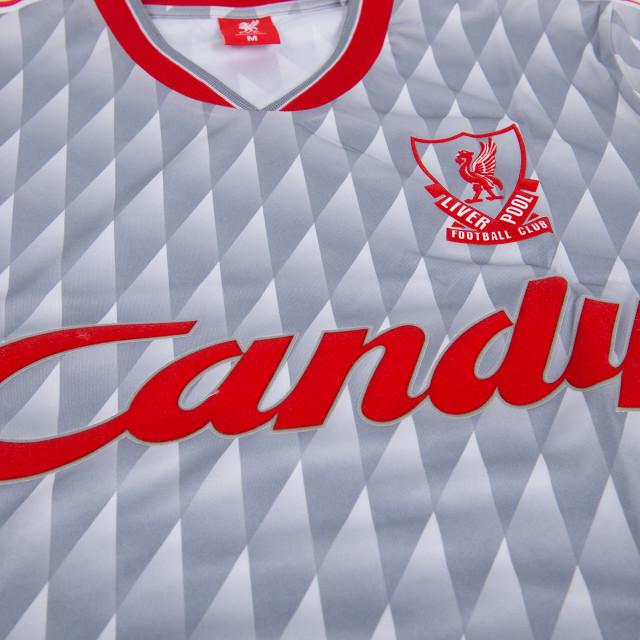 timeless design acfd0 3d1b6 Liverpool Candy 89-91 Away Shirt at Sam Dodds