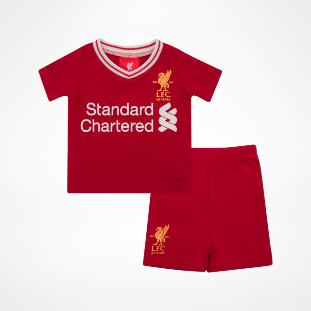 Liverpool FC. Home Tee   Shorts Set 2017 18. by LFC Official 8c76e67c9