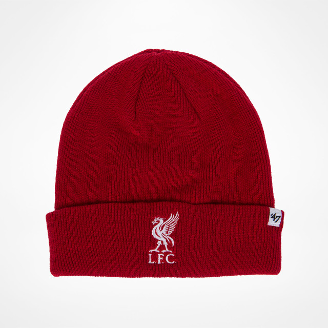 2fa814bc Liverpool Cuff-strikket lue - Rød hos KopShop.
