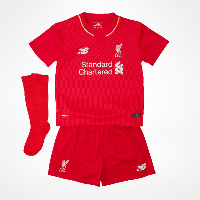 f88f821df Liverpool FC. Home Kit Kids 2015 16. by New Balance