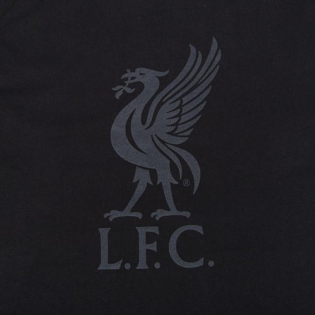 Liverpool Liverbird Black Tee Hos KopShop