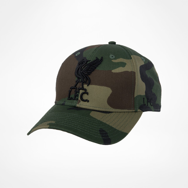 Liverpool Fc Liverbird Cap Camo Supporters Place