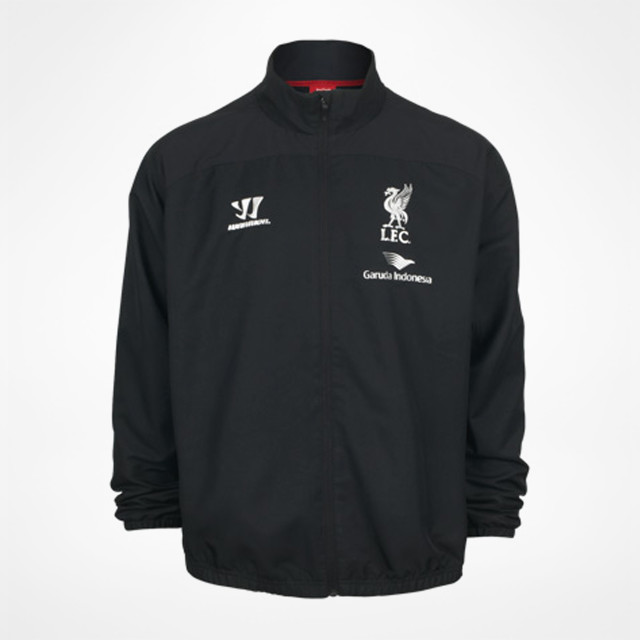ffaf688e09e Liverpool Training Presentation Jacket 2014 15 - Black at Sam Dodds