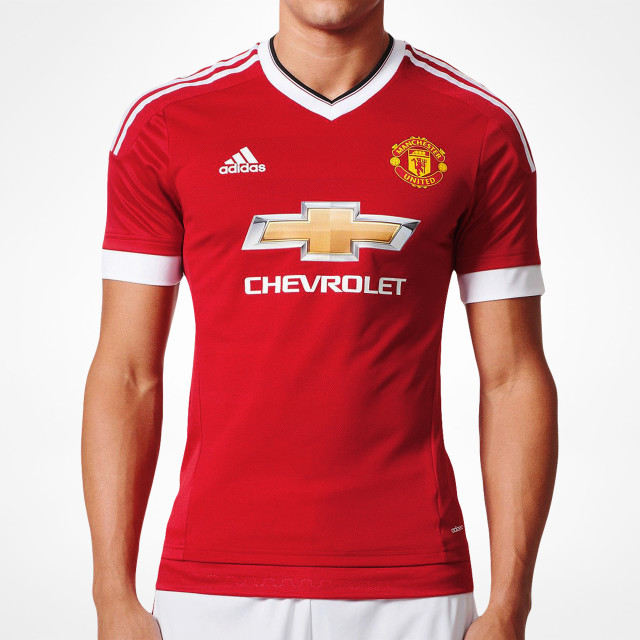 new styles 7e22d 4e4f9 Manchester United Authentic Home Jersey 2015/16 - Adizero ...