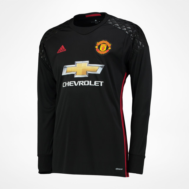 the latest 4c96d f9045 Manchester United Home Goalkeeper Jersey 2016/17 ...