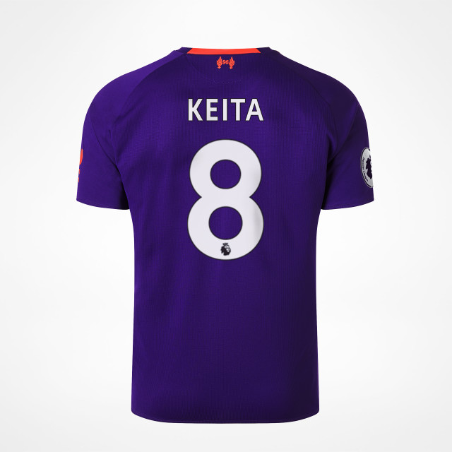 size 40 09fe1 de92c Liverpool Away Jersey 18/19 - Keita 8 at Sam Dodds