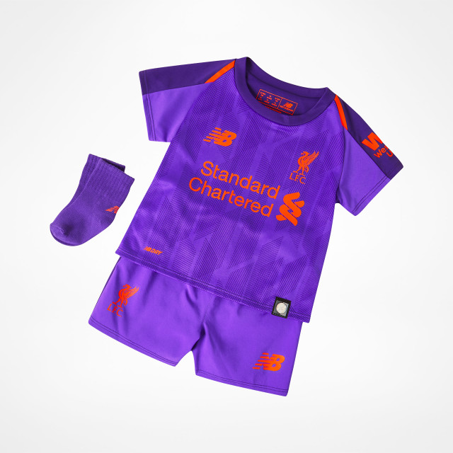 4f7346bd4e9 Liverpool Away Kit Baby 2018/19 at Sam Dodds