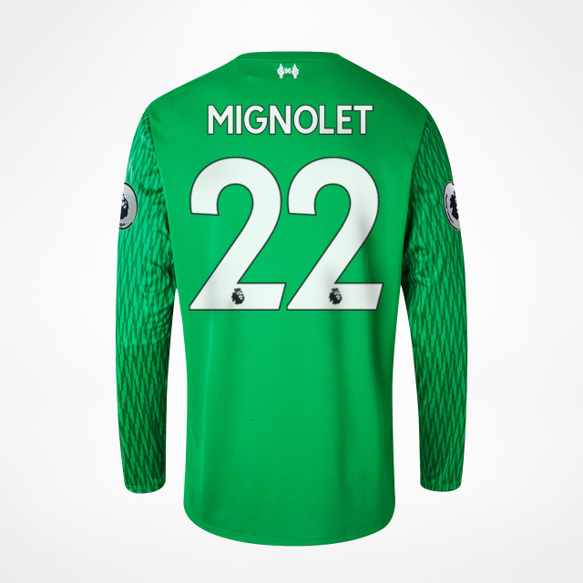 super popular 4aa38 df179 Liverpool Home GK Jersey - Mignolet 22 - SupportersPlace