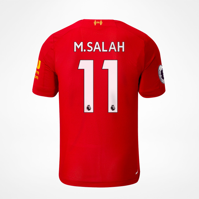 2720e187f Liverpool Home Jersey 19 20 - M.Salah 11 - SupportersPlace