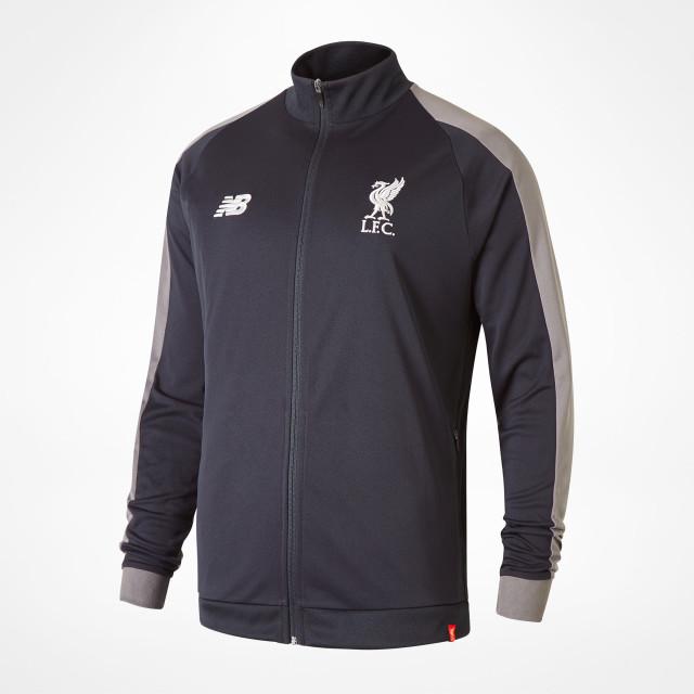 1abc186d0d8d Liverpool Presentation Jacket 18 19 - Black at Sam Dodds