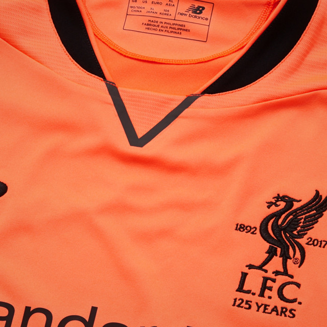 pretty nice 32587 36dcc Liverpool Third Jersey Elite 2017/18 - SupportersPlace