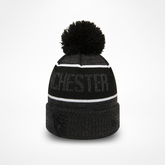 Manchester United Bobble Knit Hat Reflect Supportersplace