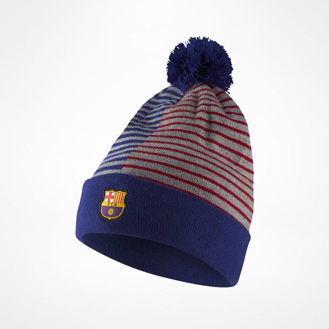 100/% Acrylique FCB Bonnet Officiel FC Barcelone