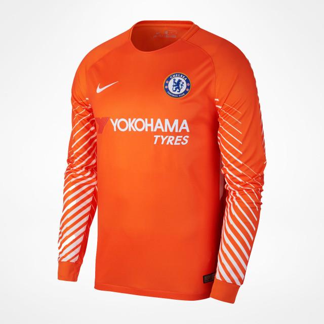 online store de285 c1072 Chelsea Home GK Jersey 2017/18 - SupportersPlace