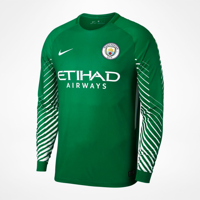 huge selection of 3713d 8cd85 Manchester City Home GK Jersey 2017/18 - SupportersPlace